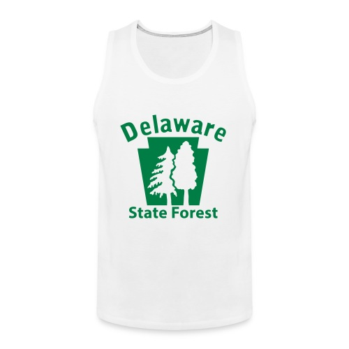 Delaware State Forest Keystone (w/trees) - Men's Premium Tank