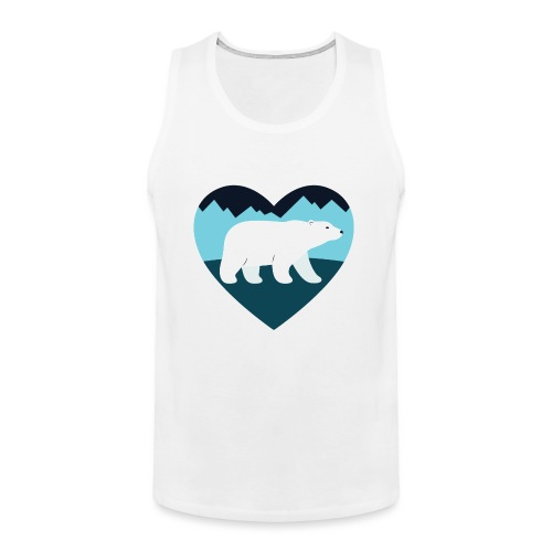 Polar Bear Love - Men's Premium Tank
