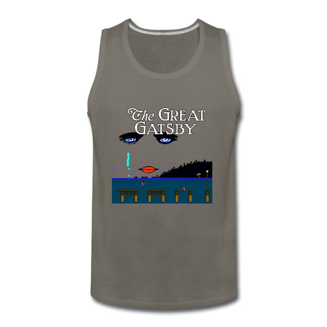 Great Gatsby Game Tri-blend Vintage Tee