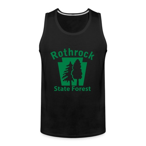 Rothrock State Forest Keystone (w/trees) - Men's Premium Tank