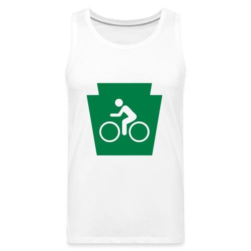 PA Keystone w/Bike (bicycle) - Men's Premium Tank