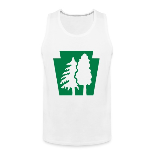 PA Keystone w/trees - Men's Premium Tank