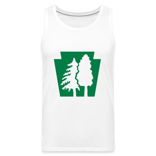 PA Keystone w/trees - Men's Premium Tank