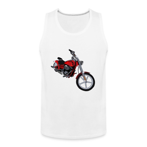 Motorcycle red - Men's Premium Tank