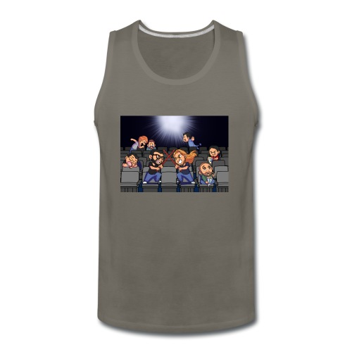 A Night at the Movies - Men's Premium Tank
