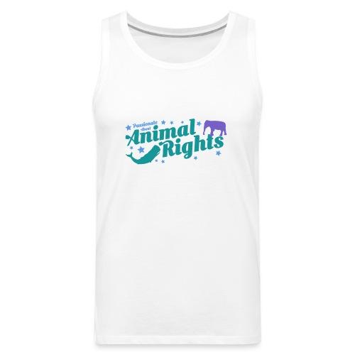 Animal Rights design - Men's Premium Tank