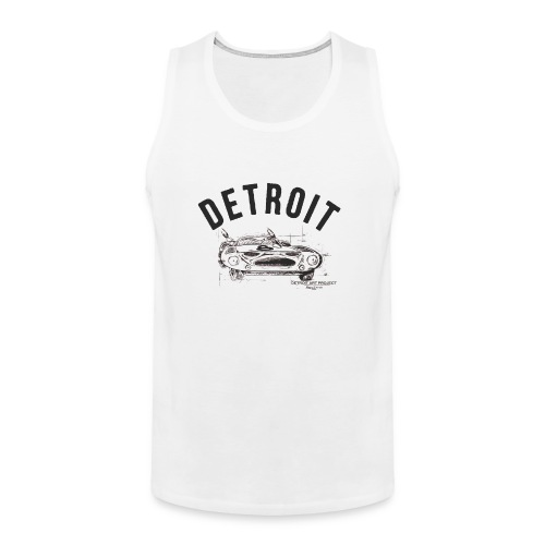 Detroit Art Project - Men's Premium Tank
