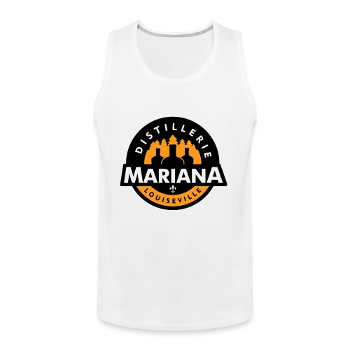 Distillerie Mariana Manche 3/4 - Men's Premium Tank