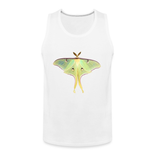 GREEN LUNA MOTH - Men's Premium Tank