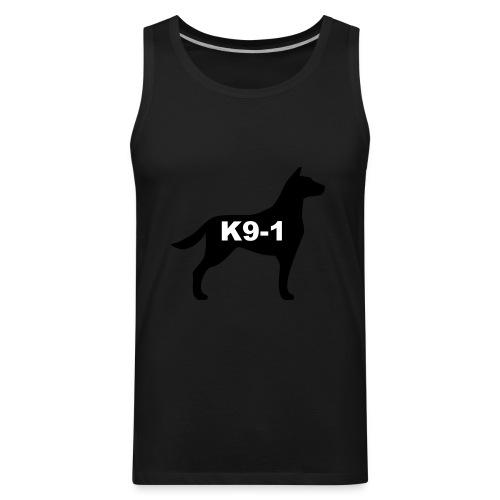 k9-1 Logo Large - Men's Premium Tank