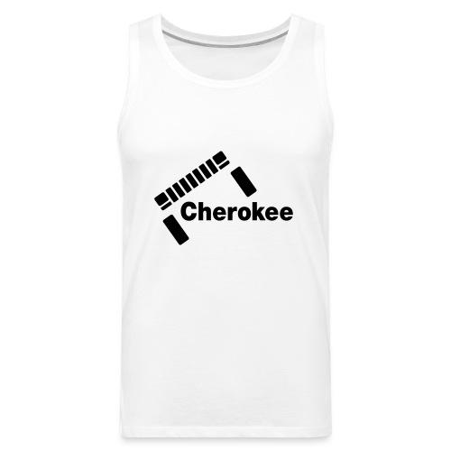 Slanted Cherokee - Men's Premium Tank