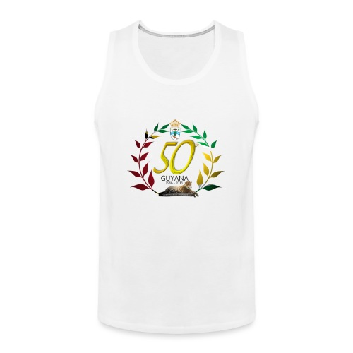 Guyana's 50th - Men's Premium Tank