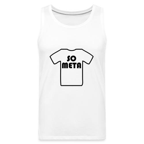 Meta Shirt on a Shirt - Men's Premium Tank