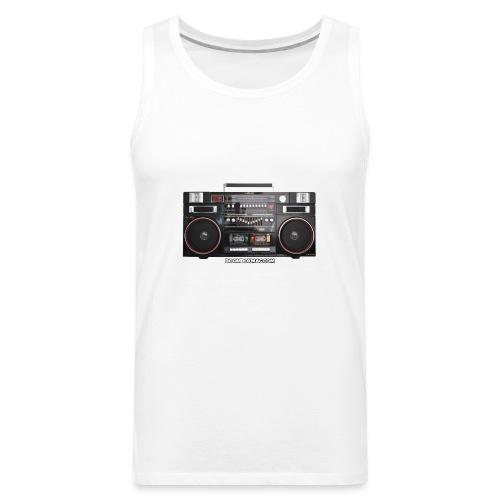 Helix HX 4700 Boombox Magazine T-Shirt - Men's Premium Tank