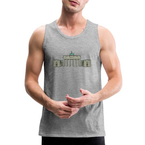 Brandenburg Gate Berlin - Men's Premium Tank