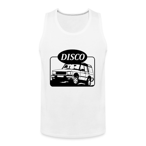 Land Rover Discovery illustration - Men's Premium Tank