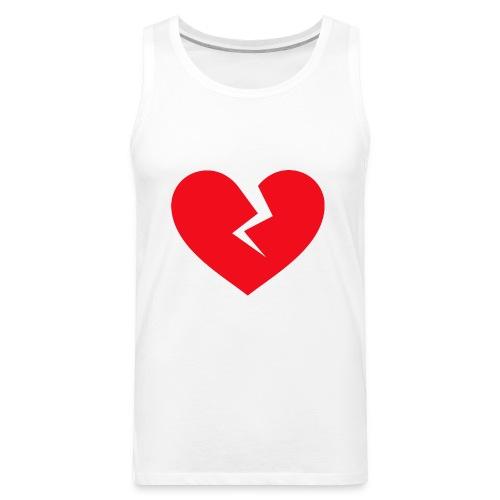 Broken Heart - Men's Premium Tank