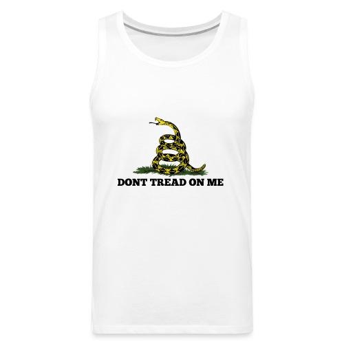 GADSDEN DONT TREAD ON ME - Men's Premium Tank