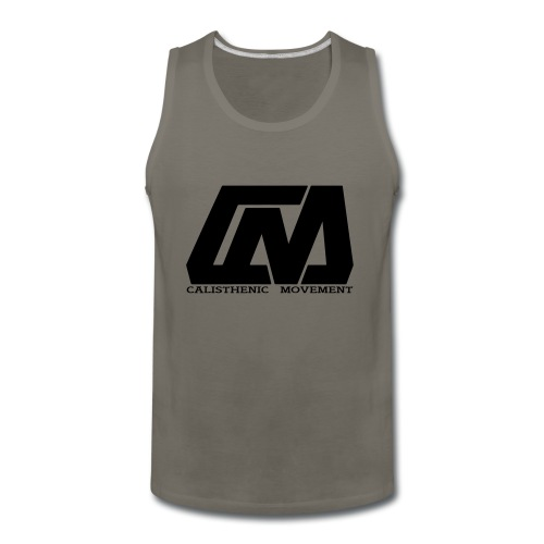 Cali Move Front black women - Men's Premium Tank
