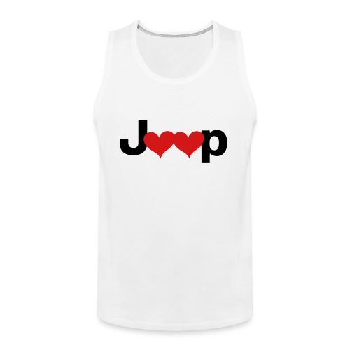 Jeep Love - Men's Premium Tank