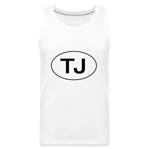 Jeep TJ Wrangler Oval - Men's Premium Tank