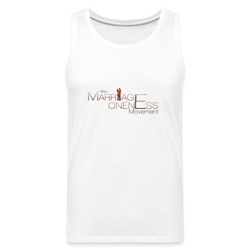 The Marriage Oneness Movement T-shirt - Men's Premium Tank
