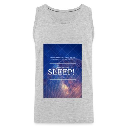 Sleep Galaxy by @lovesaccessories - Men's Premium Tank