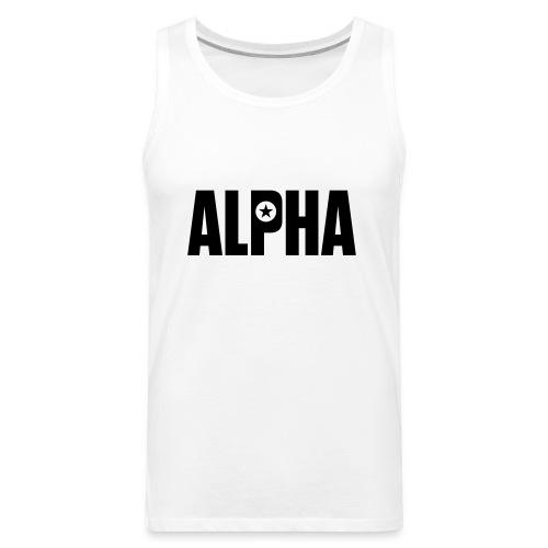 ALPHA - Men's Premium Tank