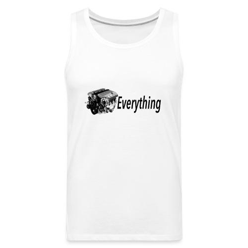 LS Everything WHITE T-shirt - Men's Premium Tank