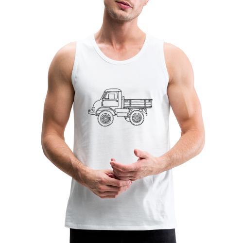 Off-road truck, transporter - Men's Premium Tank