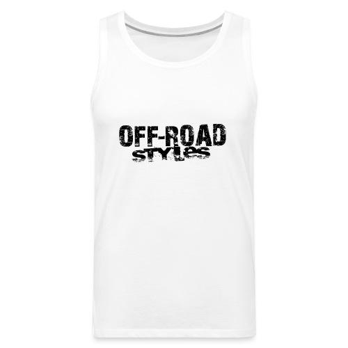Remember Motocross Long Sleeve Shirts - Men's Premium Tank