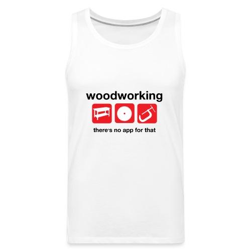 Woodworking - Men's Premium Tank