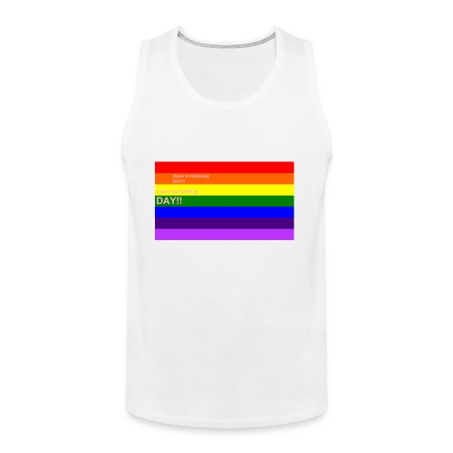 rainbowy day - Men's Premium Tank