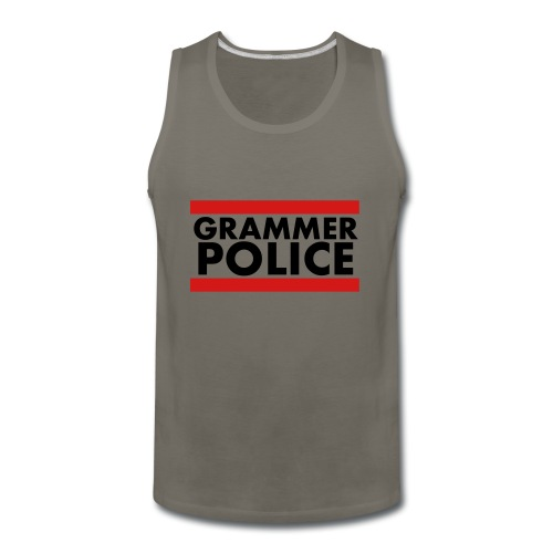 Grammer Police - Men's Premium Tank