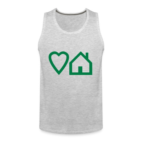 ts-3-love-house-music - Men's Premium Tank