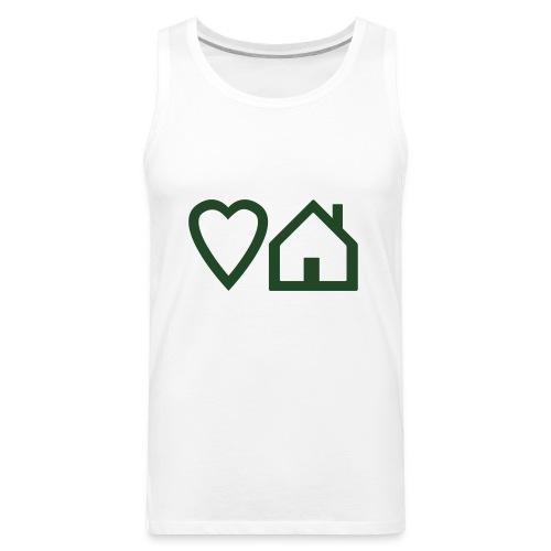 ts-3-love-house-music - Men's Premium Tank