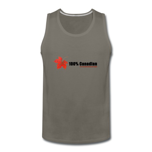 100% Canadian - Men's Premium Tank