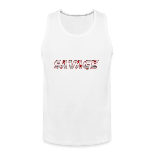Savage Bloody - Men's Premium Tank