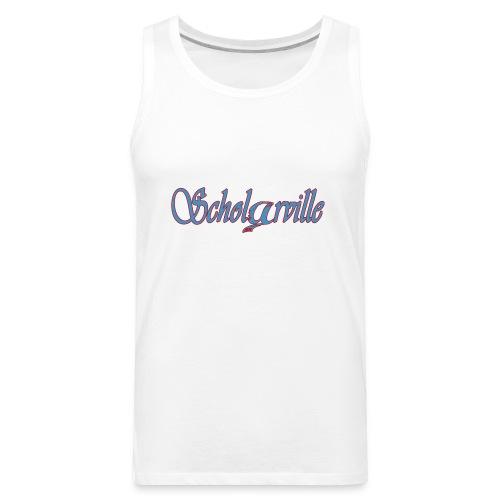 Welcome To Scholarville - Men's Premium Tank
