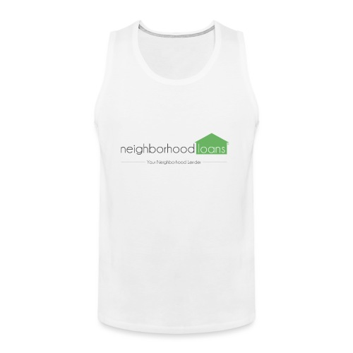 Neighborhood Loans White Items - Men's Premium Tank
