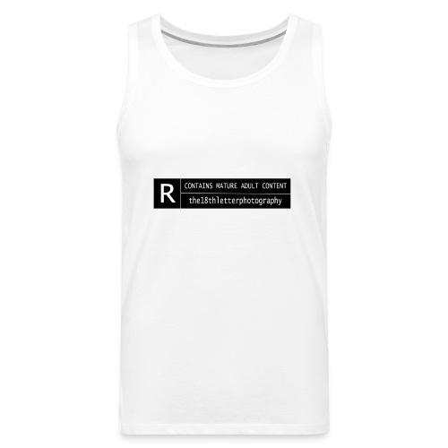 rated r - Men's Premium Tank