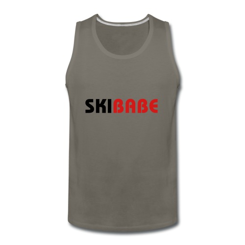 Ski Babe - Men's Premium Tank