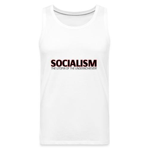 SOCIALISM UTOPIA - Men's Premium Tank