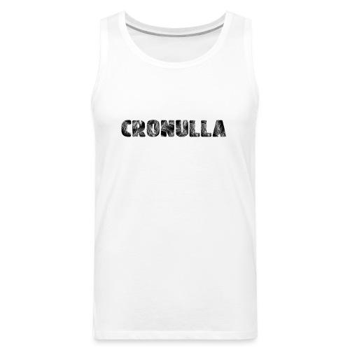 Cronulla Black - Men's Premium Tank