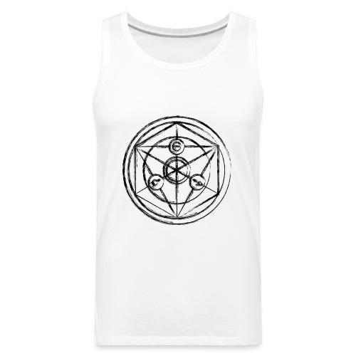 Alchemist - Transumtation Circle Women's Tshirt - Men's Premium Tank