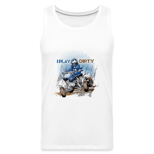 Dirty Quad Racer - Men's Premium Tank