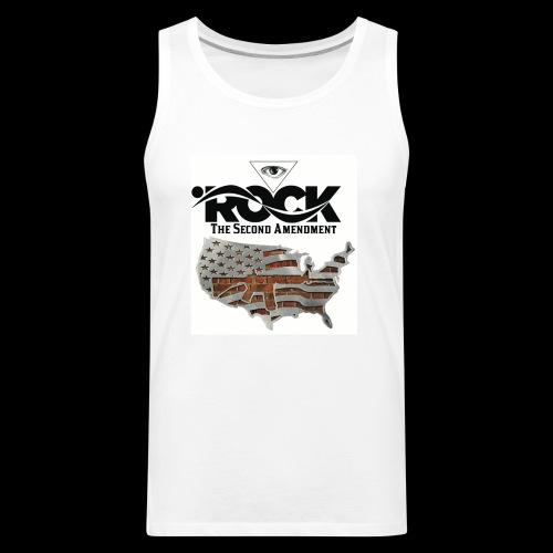 Eye Rock the 2nd design - Men's Premium Tank