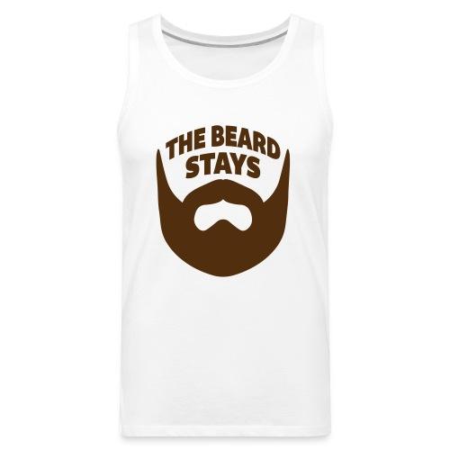 thebeardstays - Men's Premium Tank