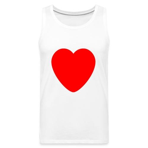 Red heart Care - Men's Premium Tank