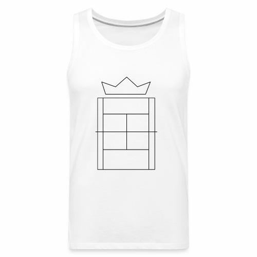 Queen/King of the Court - Men's Premium Tank